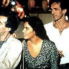 Mathilda May, Pierre Arditi, Aurelle Doazan, Jean-Marie Marion, and Guillaume Souchet in La passerelle (1988)
