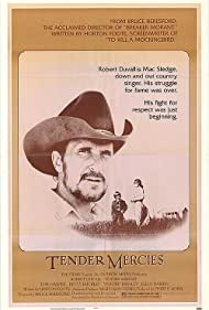 Robert Duvall, Tess Harper, and Allan Hubbard in Tender Mercies (1983)