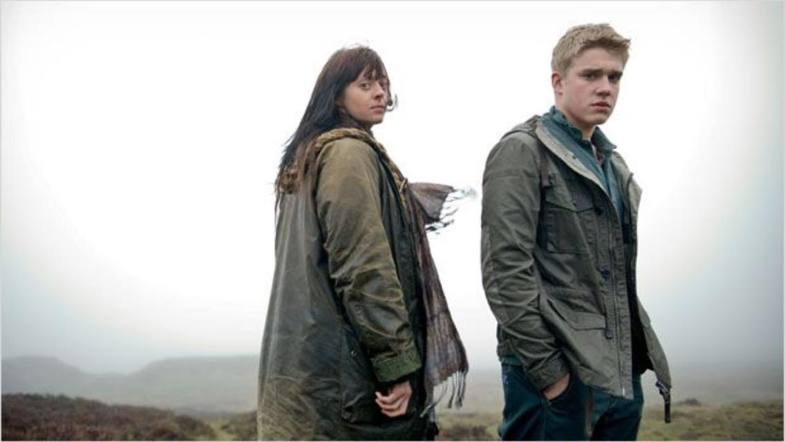 Bobby Lockwood and Siwan Morris in Wolfblood (2012)