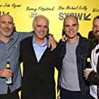 John Hyams, Michael Kelly, Barney Fitzpatrick, and Timothy Brady at an event for All Square (2018)