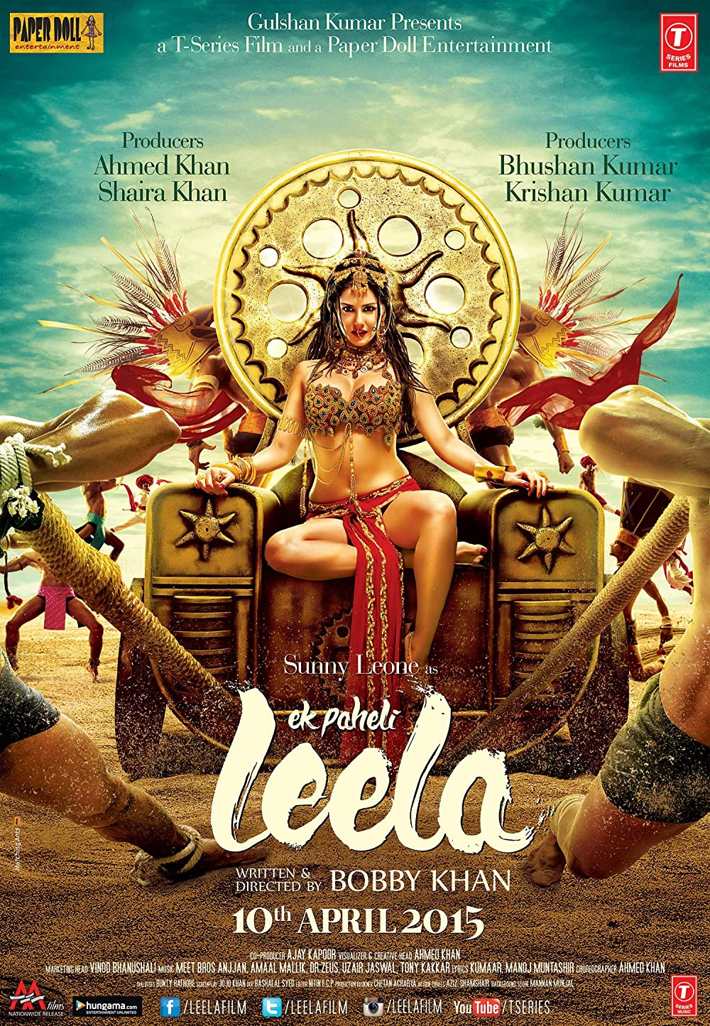 Ek Paheli Leela 2015 Hindi 420MB HDRip ESub Download
