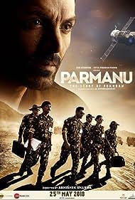 Aditya Hitkari, Yogendra Tikku, John Abraham, Vikas Kumar, Diana Penty, and Ajay Shankar in Parmanu: The Story of Pokhran (2018)