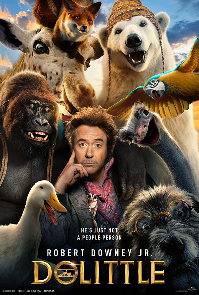 Dolittle 2020 English 720p HDRip 800MB Download
