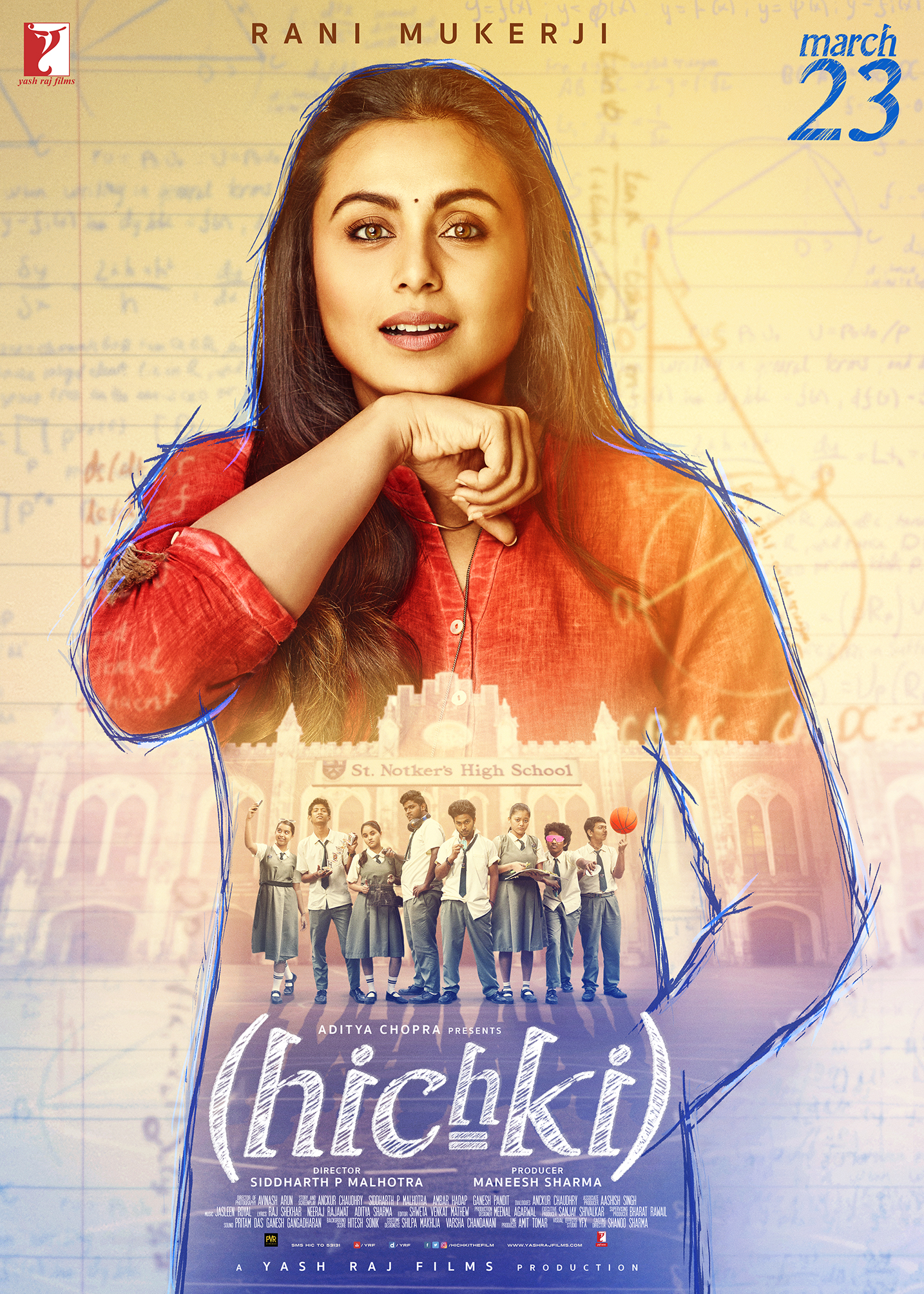 Hichki (2018) Hindi Blu-Ray – 480P | 720P – x264 – 300MB | 900MB – Download