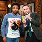 Chris Hardwick and Donald Glover in Talking with Chris Hardwick (2017)