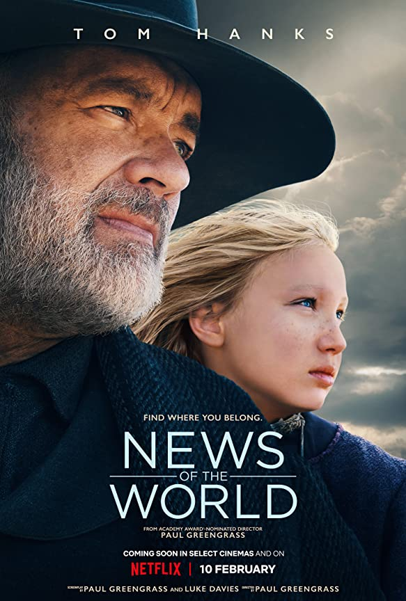 News of the World (2020) English 720p HEVC HDRip  x265 AAC ESubs (650MB) Full Movie Download