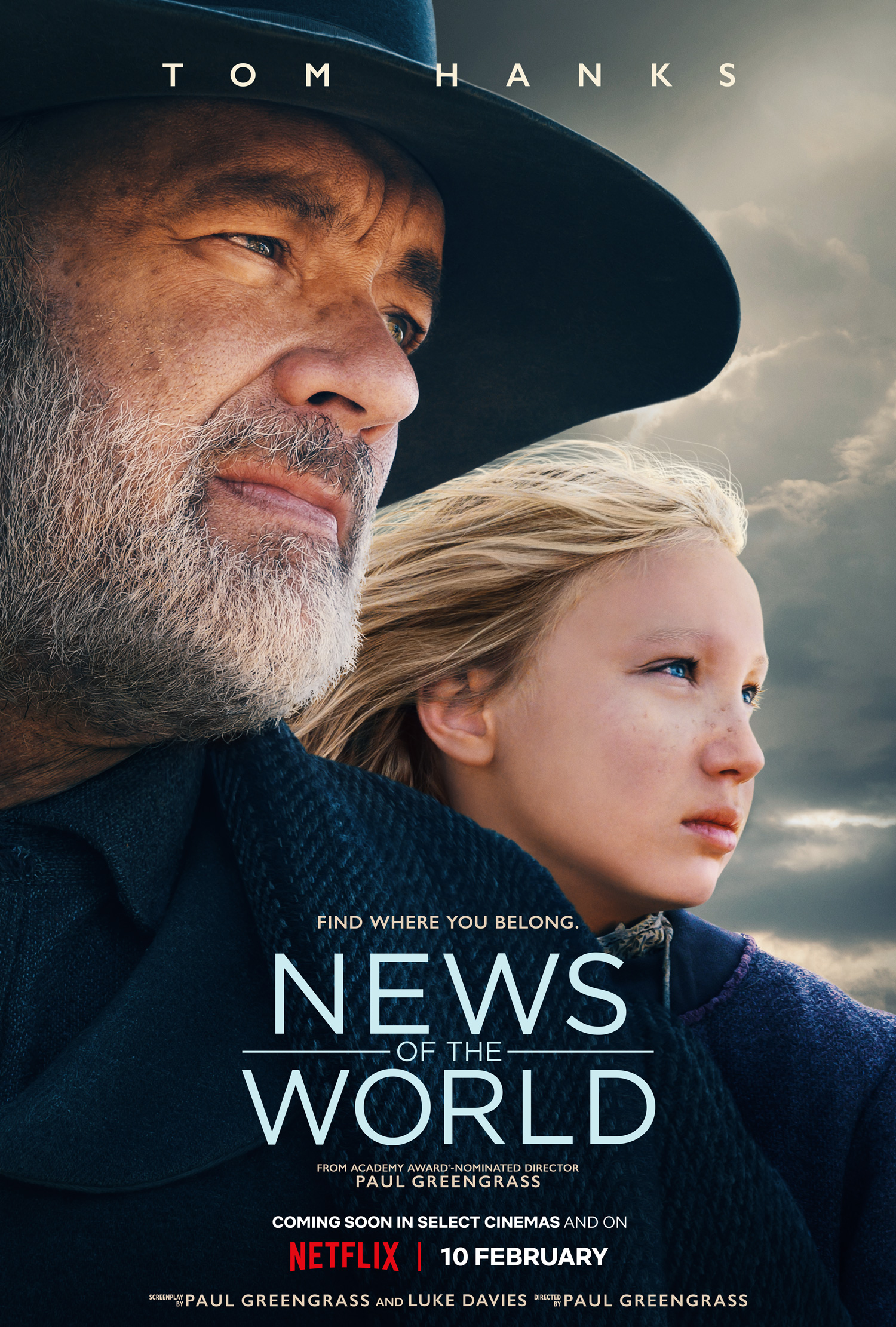 News Of The World (2020) Netflix movie poster