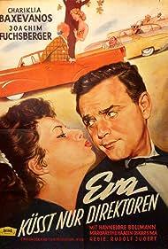Chariklia Baxevanos and Joachim Fuchsberger in Eva küßt nur Direktoren (1958)