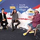 Kevin Smith, Ben Whishaw, and Aneil Karia at an event for The IMDb Studio at Acura Festival Village (2020)