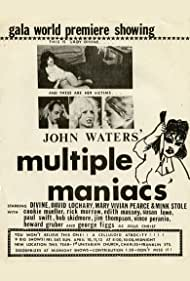 Divine, David Lochary, Cookie Mueller, and Mink Stole in Multiple Maniacs (1970)