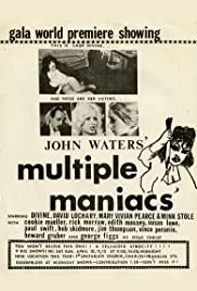 Multiple Maniacs(1970) Poster - Movie Forum, Cast, Reviews