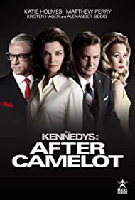 Matthew Perry, Katie Holmes, Alexander Siddig, and Kristen Hager in The Kennedys After Camelot (2017)