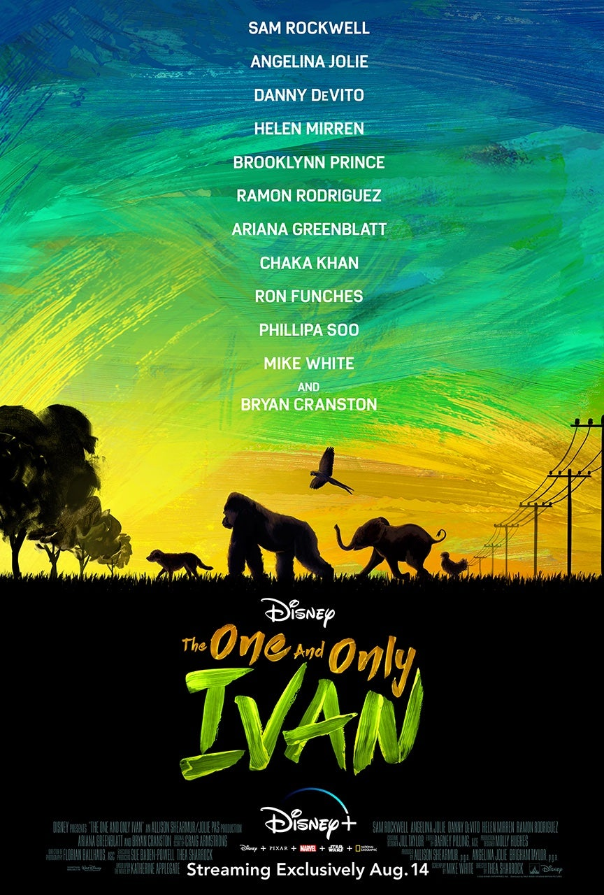 The One and Only Ivan (2020) English Full Movie 480p, 720p Download