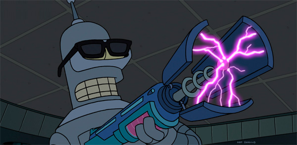 John DiMaggio in Futurama: Bender's Big Score (2007)