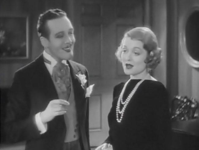 Constance Bennett and Tyrell Davis in Our Betters (1933)