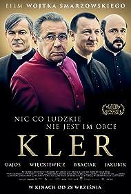 Jacek Braciak, Janusz Gajos, Robert Wieckiewicz, and Arkadiusz Jakubik in Kler (2018)