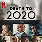 Samuel L. Jackson, Hugh Grant, Lisa Kudrow, Tracey Ullman, Leslie Jones, Diane Morgan, Cristin Milioti, Kumail Nanjiani, Samson Kayo, and Joe Keery in Death to 2020 (2020)