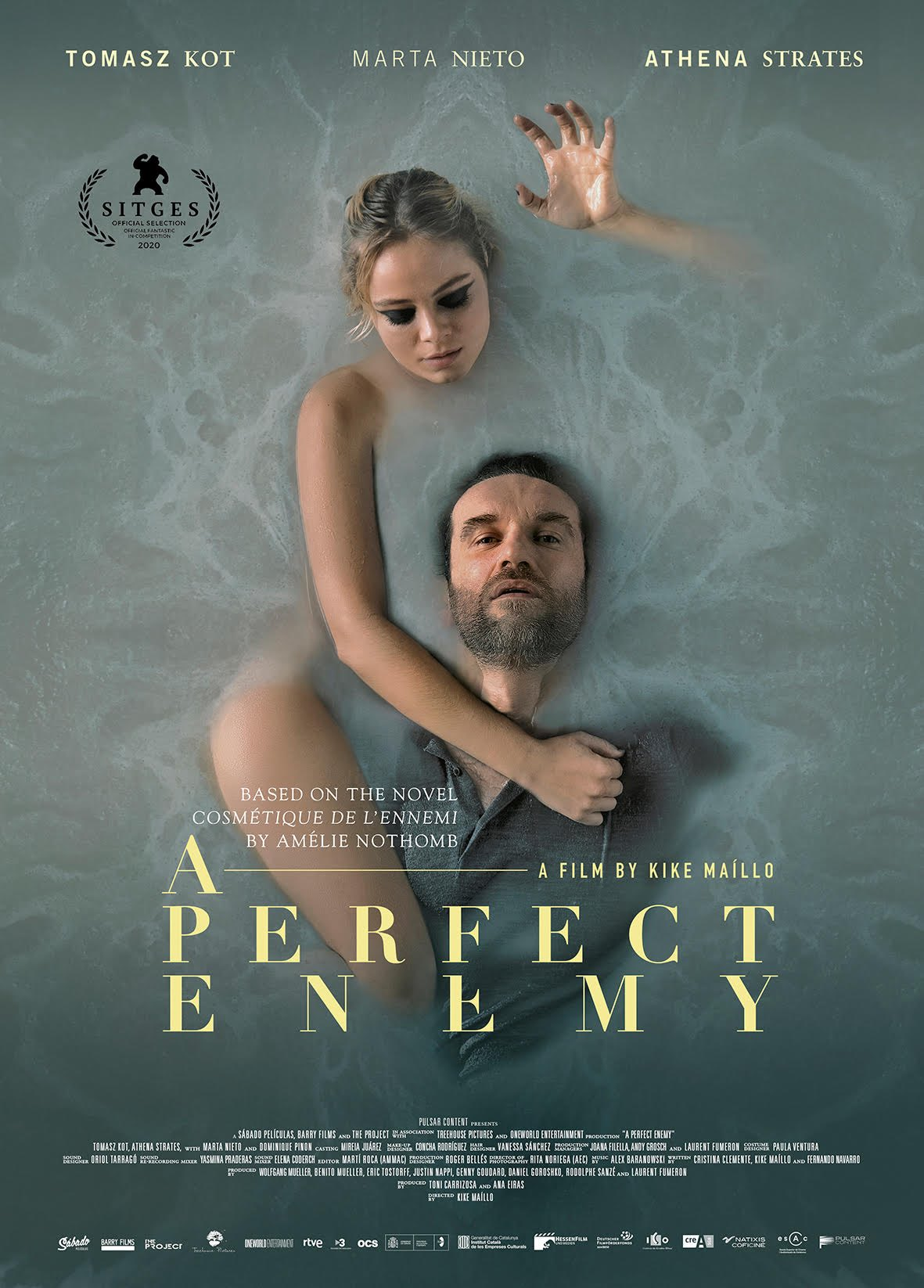 A Perfect Enemy 2021 English Movie 480p HDRip 300MB Download
