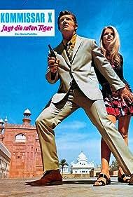 Gisela Hahn and Tony Kendall in Kommissar X jagt die roten Tiger (1971)