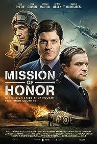 Marcin Dorocinski, Iwan Rheon, and Milo Gibson in Hurricane (2018)
