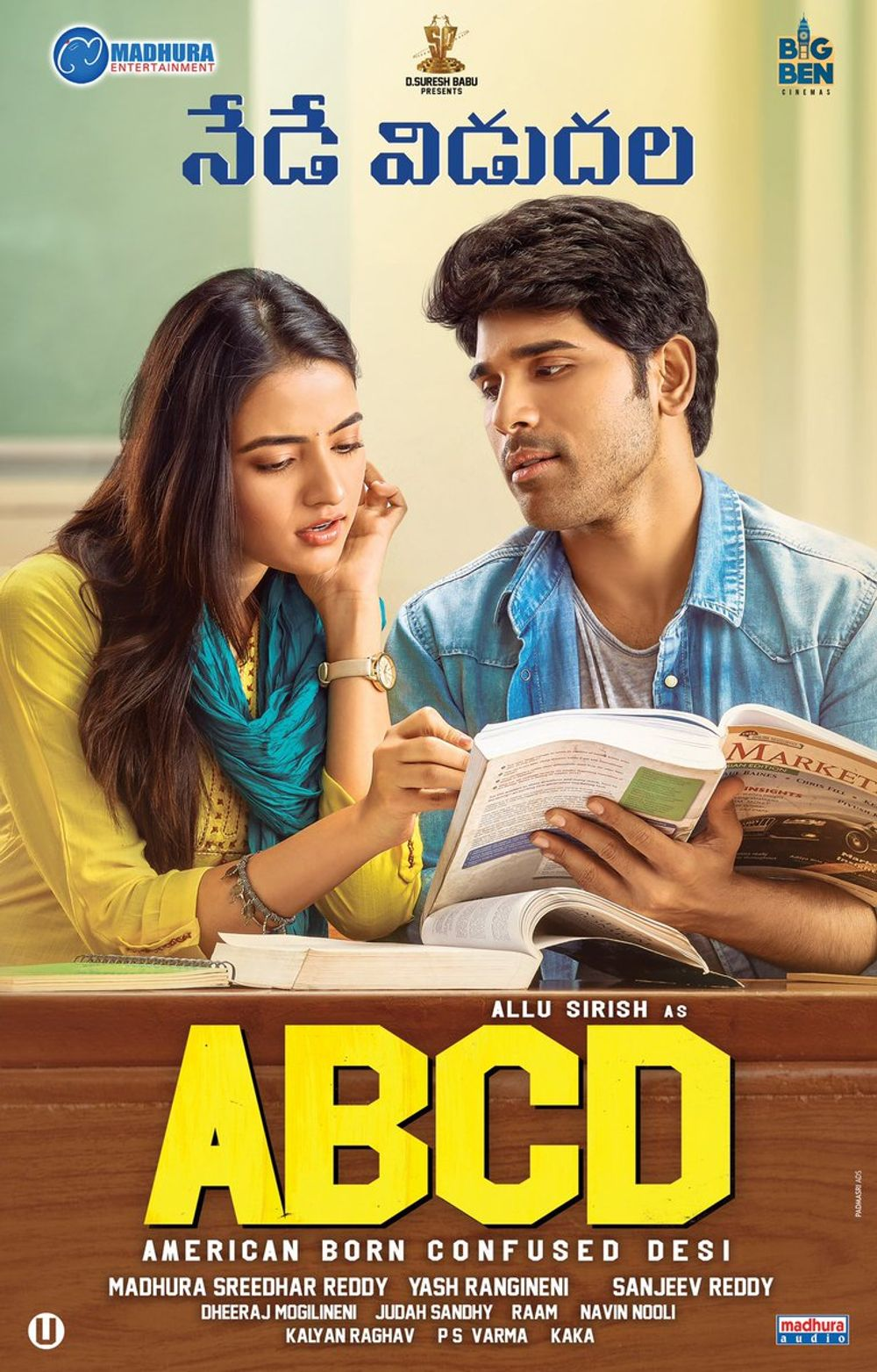 ABCD: American Born Confused Desi 2019 Hindi Dual Audio 720p | 480p UNCUT HDRip ESubs 1.5GB | 450MB Download