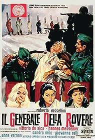 Vittorio De Sica, Sandra Milo, Giovanna Ralli, and Anne Vernon in Il generale Della Rovere (1959)
