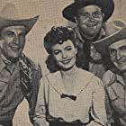 Lois Collier, Rufe Davis, Bob Steele, and Tom Tyler in West of Cimarron (1941)