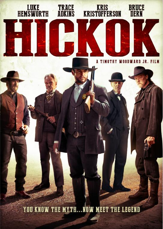 Bruce Dern, Kris Kristofferson, Trace Adkins, Luke Hemsworth, and Kaiwi Lyman in Hickok (2017)