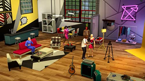 The Sims 4 Moschino Stuff Pack