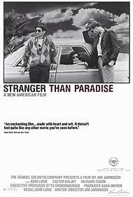 Richard Edson, Eszter Balint, and John Lurie in Stranger Than Paradise (1984)