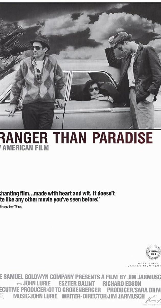 Subtitle of Stranger Than Paradise