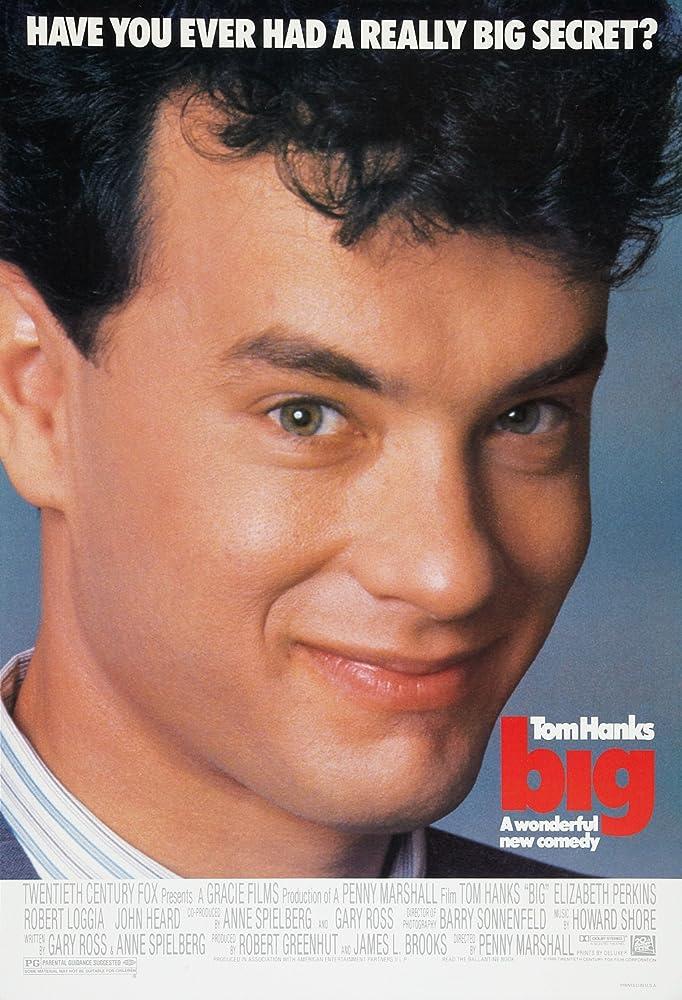 Tom Hanks in Big (1988)