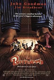 Tom Felton, Flora Newbigin, and Raymond Pickard in The Borrowers (1997)