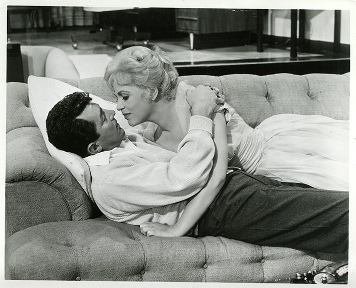 Dean Martin and Judy Holliday in Bells Are Ringing (1960)