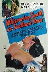 Richard Carlson and Greta Gynt in Whispering Smith Hits London (1952)