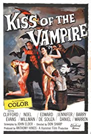 The Kiss of the Vampire (1963) Poster - Movie Forum, Cast, Reviews