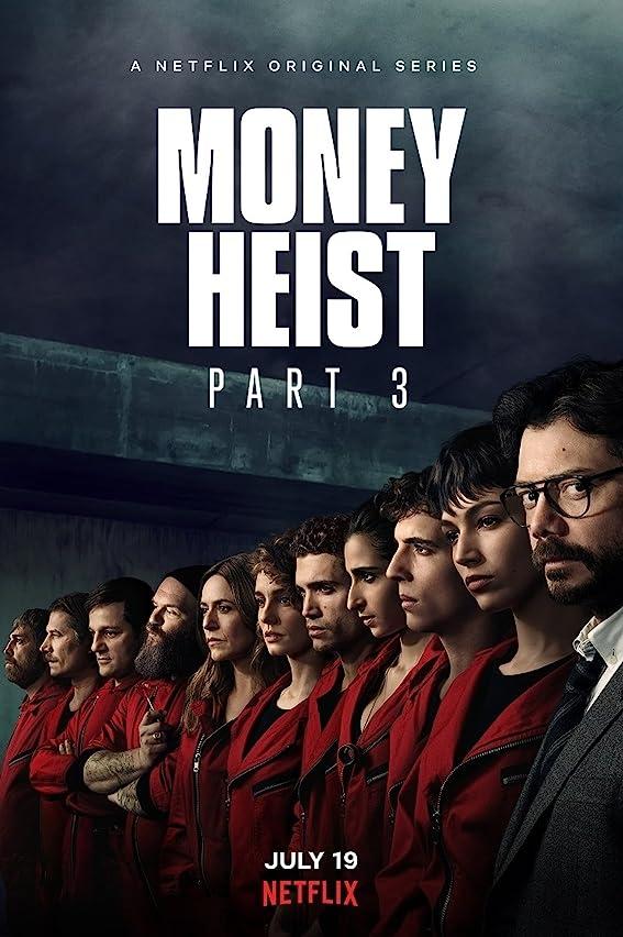 Money Heist (2020) Season 3 Hindi Dubbed (Netflix)