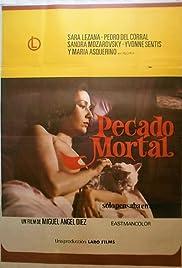 Pecado mortal Poster