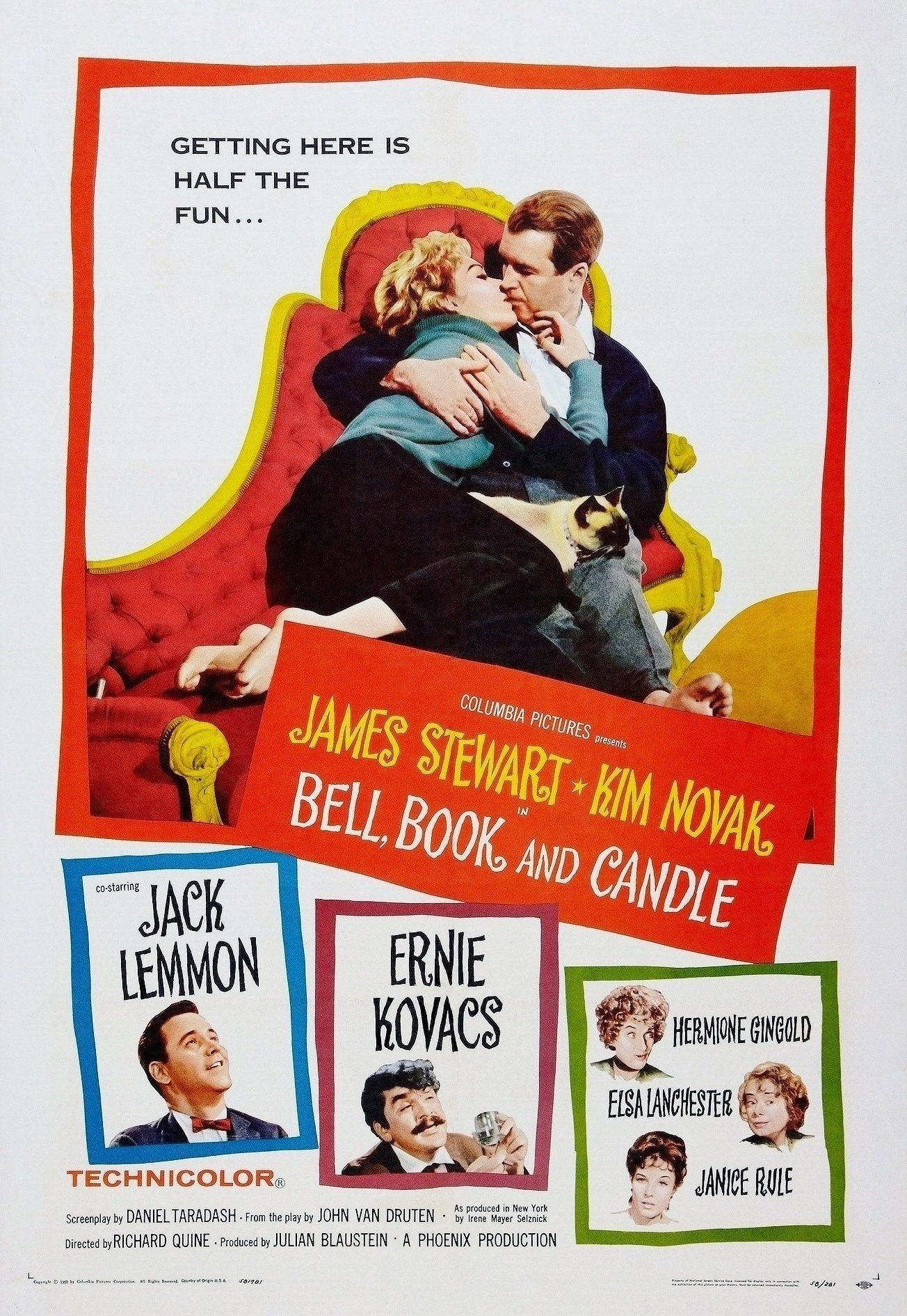 Bell Book and Candle (1958) - IMDb