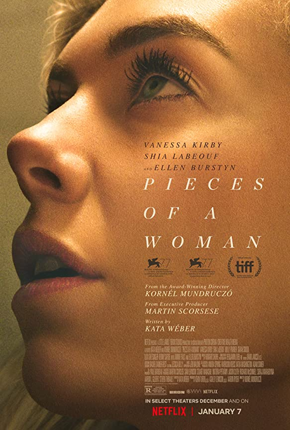 Pieces of a Woman (2021) English 720p | 480p HEVC NF HDRip Full Hollywood Movie x265 AAC ESubs [900MB]