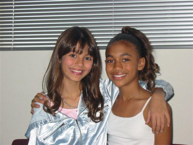 Paige Hurd and Victoria Justice in The Suite Life of Zack & Cody (2005)