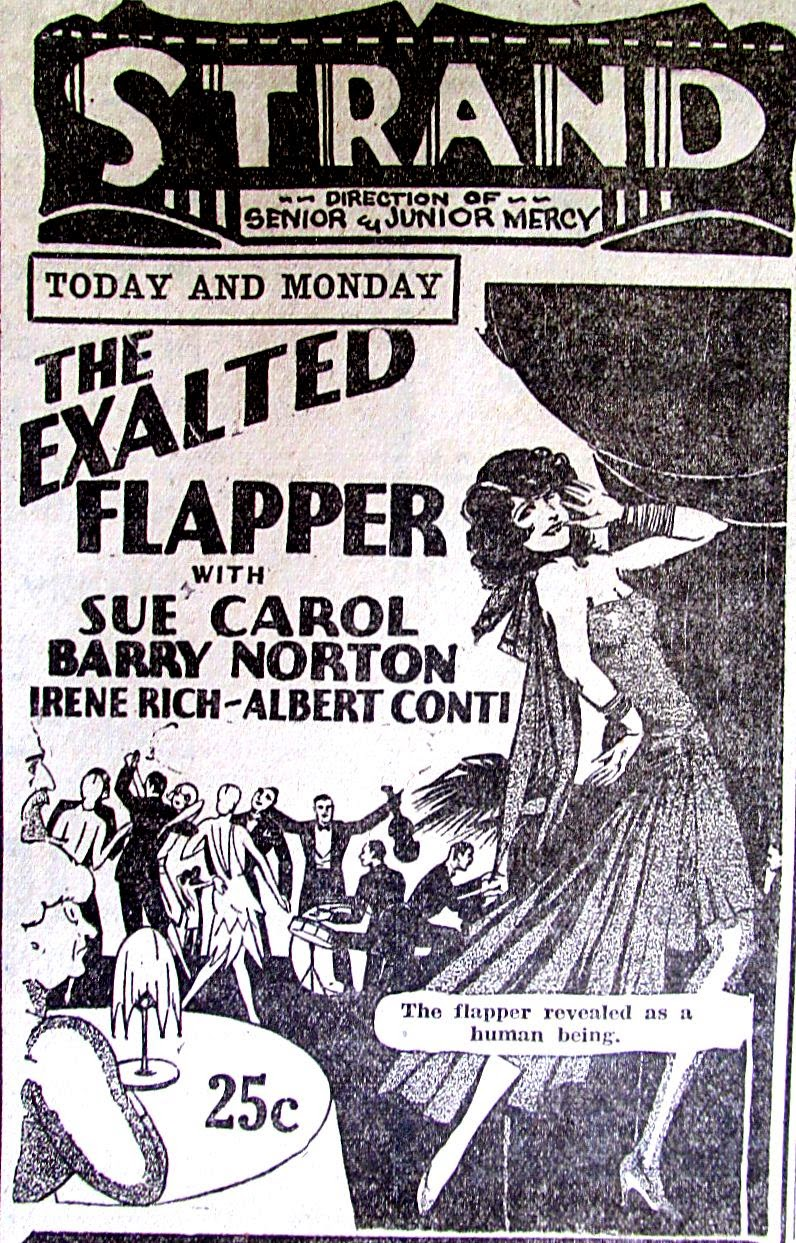 Sue Carol in The Exalted Flapper (1929)