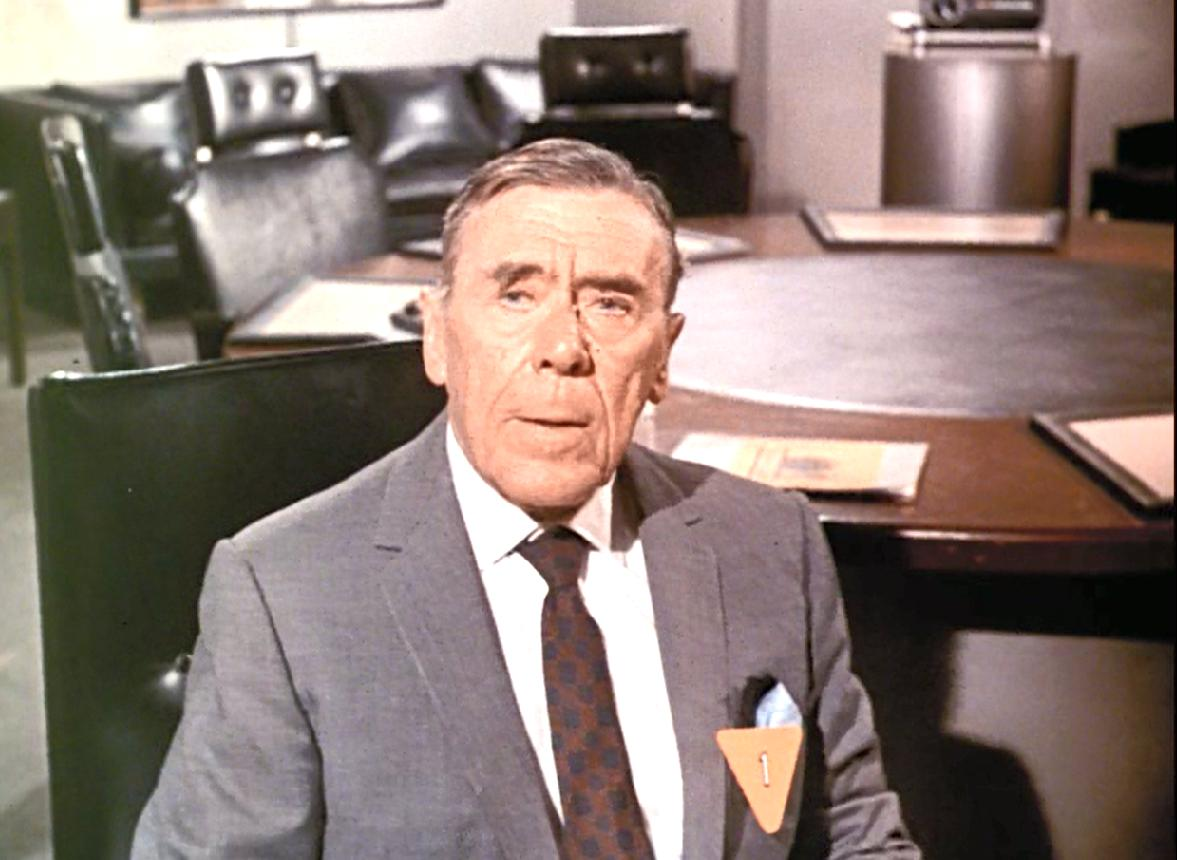 Leo G. Carroll in One of Our Spies Is Missing (1966)