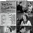 Tom Tyler and Carol Wyndham in Roamin' Wild (1936)