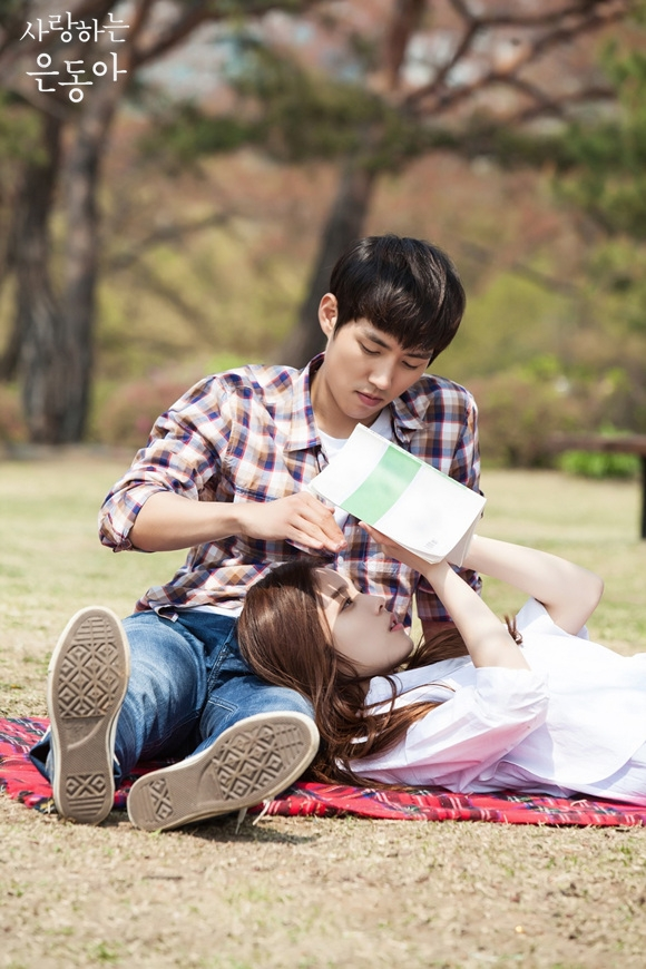 Sung-Hyun Baek and So-hee Yoon in Sa-rang-ha-neun eun-dong-ah (2015)