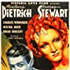 Marlene Dietrich and James Stewart in Destry Rides Again (1939)