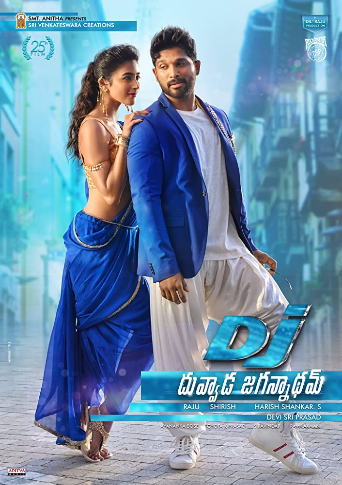 Duvvada Jagannadham (DJ) 2017Hindi Dubbed 720p HDRip 890MB