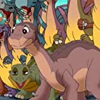 Cuba Gooding Jr., Cody Arens, Jeff Bennett, Aria Noelle Curzon, Anndi McAfee, Sandra Oh, Rob Paulsen, and Pete Sepenuk in The Land Before Time XIII: The Wisdom of Friends (2007)