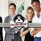 Giulio Base, Giorgio Tirabassi, Fabio Troiano, and Carolina Crescentini in Un cane per due (2010)