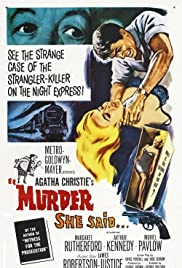 Murder She Said (1961) Poster - Movie Forum, Cast, Reviews